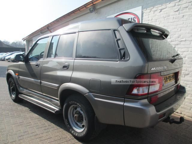 2001 Ssangyong Musso #22