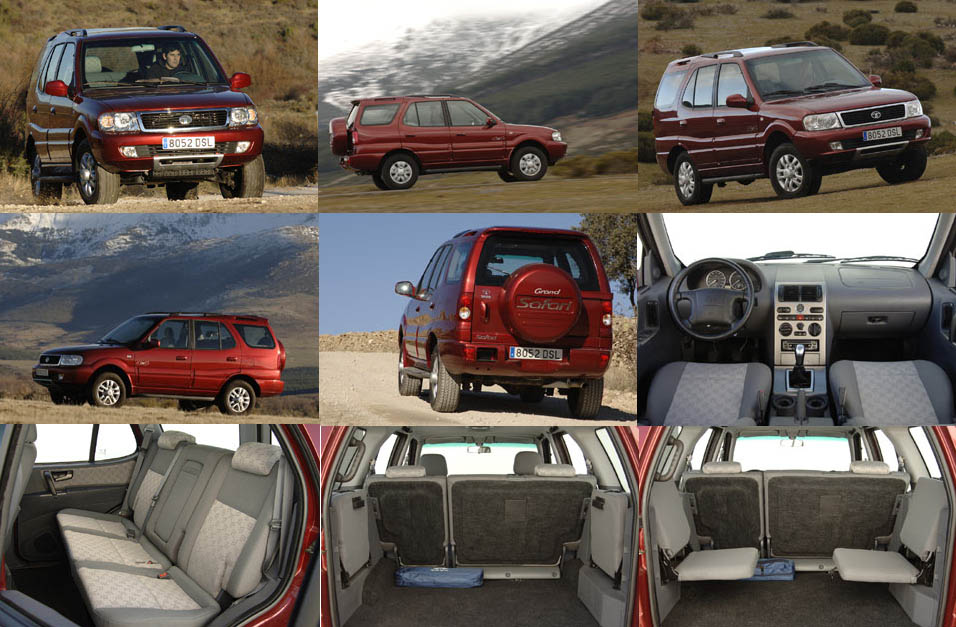 2001 Tata Safari #21