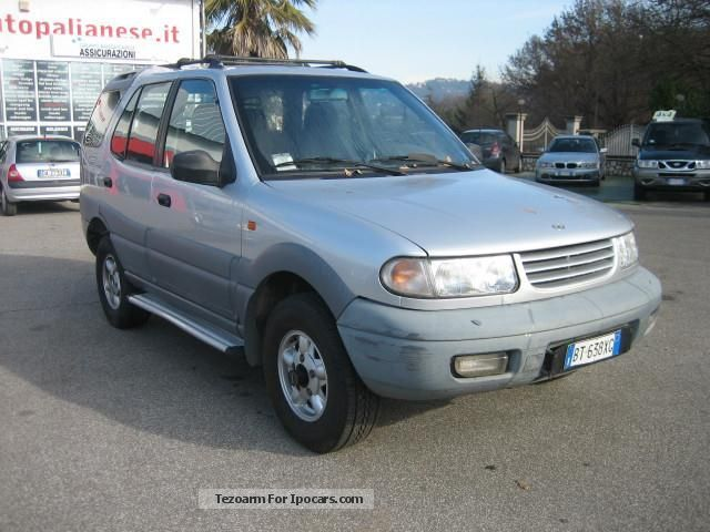 2001 Tata Safari #16