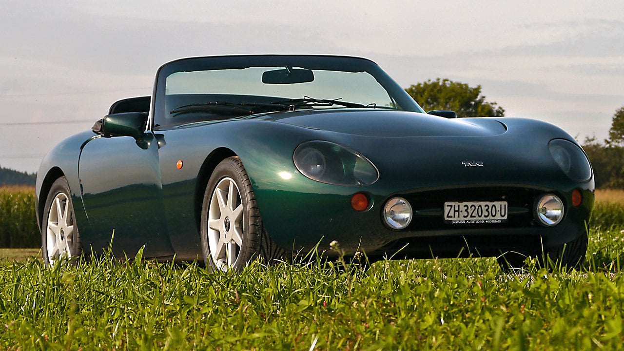 2001 TVR Griffith #19