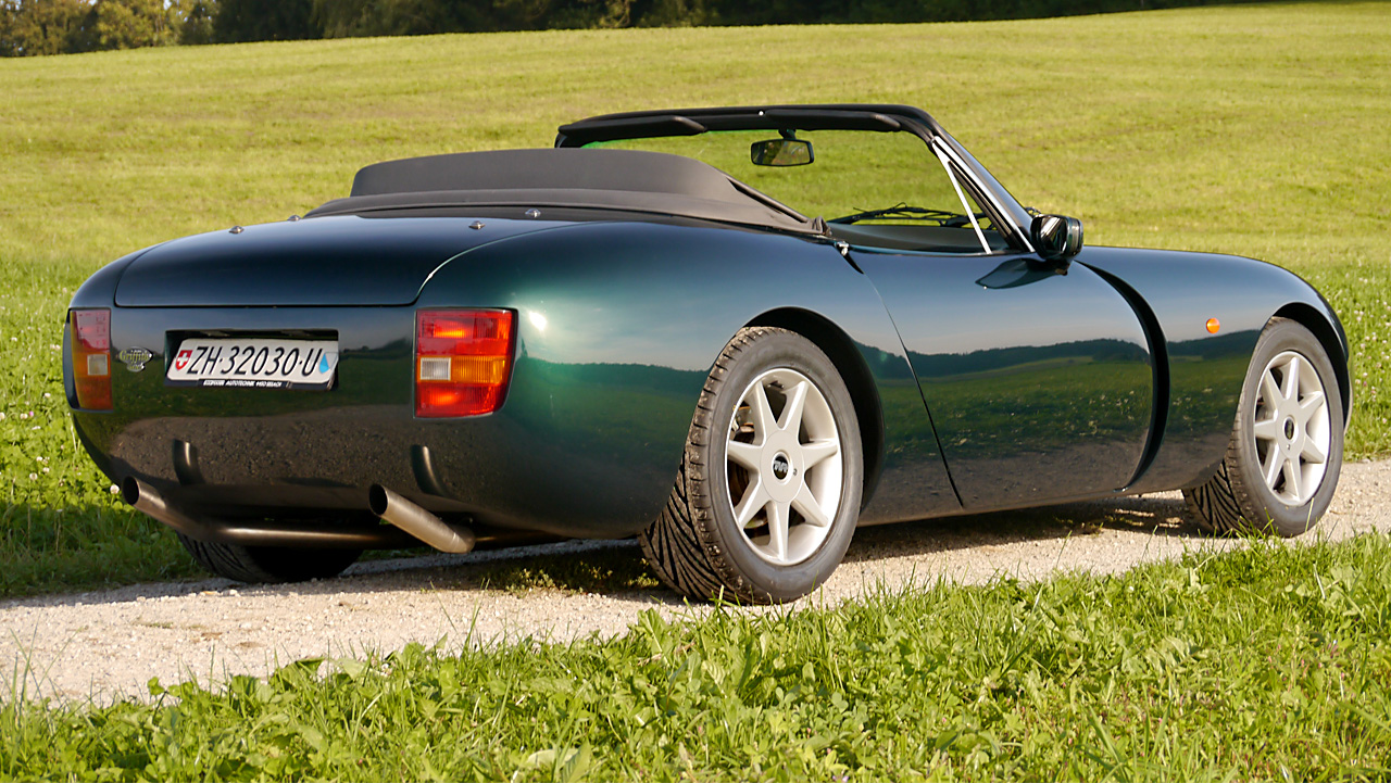 2001 TVR Griffith #15