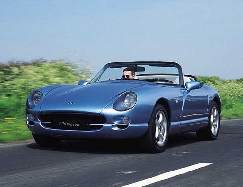 2001 TVR Griffith #17