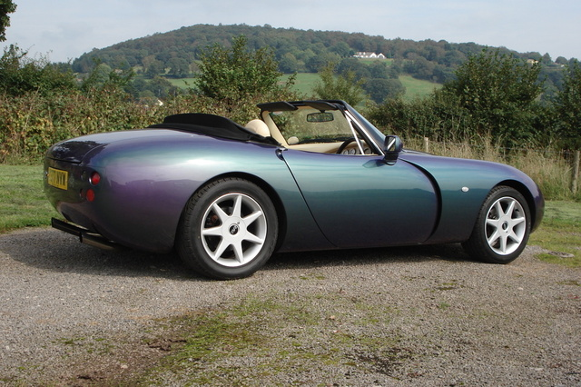 2001 TVR Griffith #14