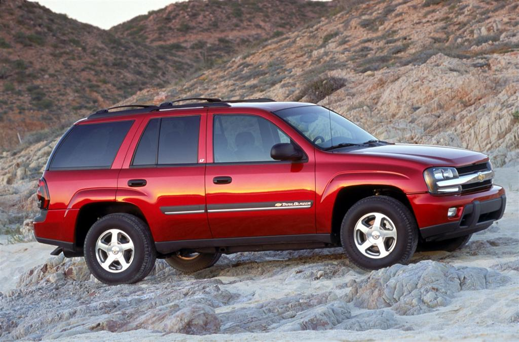 2002 Chevrolet Trailblazer #16