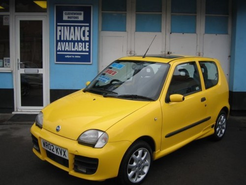 2002 Fiat Seicento Photos, Informations, Articles - BestCarMag.com