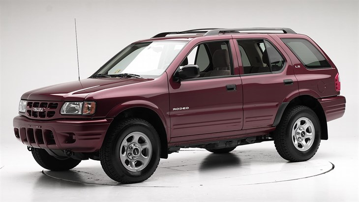 2002 isuzu rodeo photos, informations, articles - bestcarmag