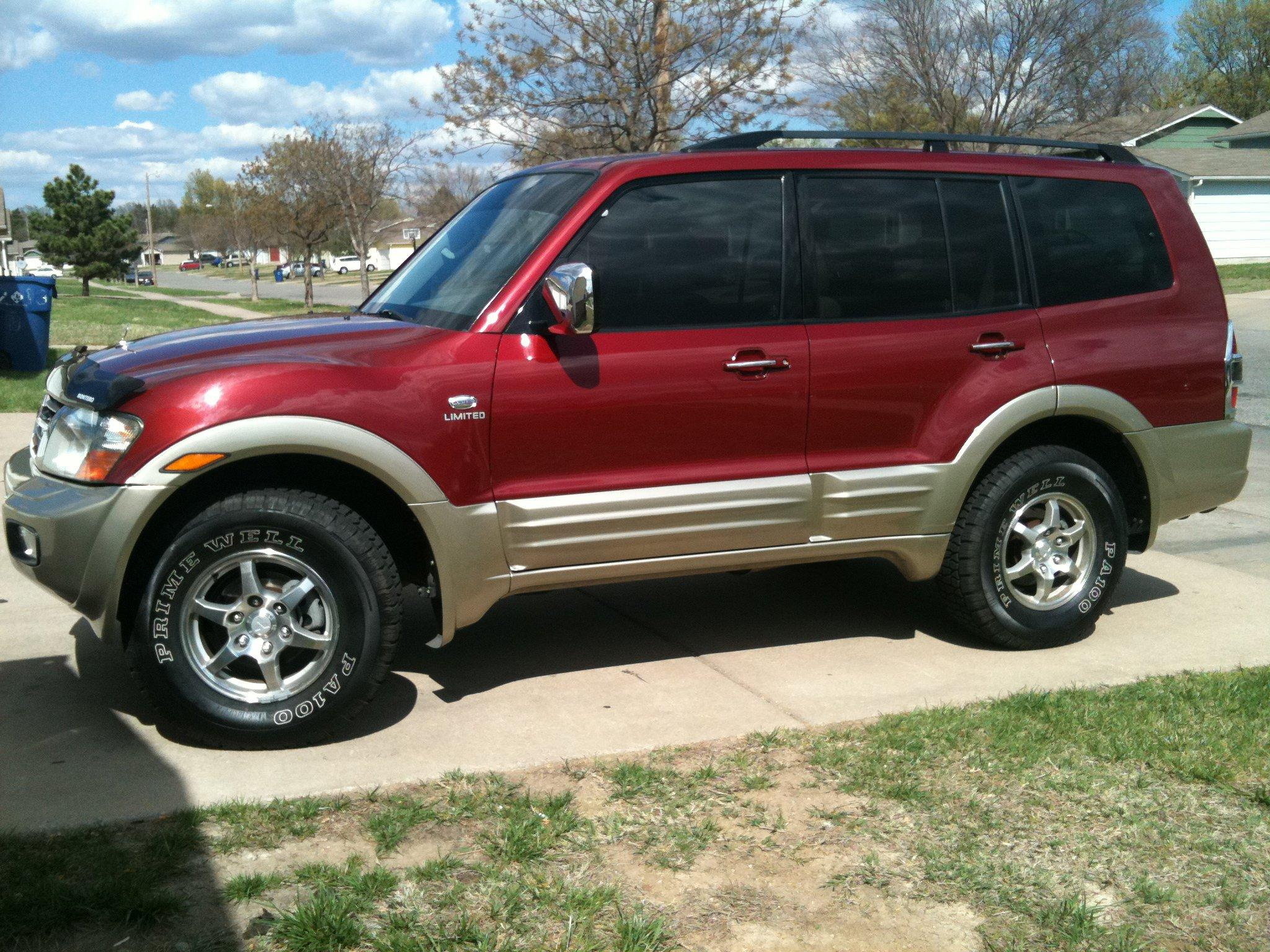 2002 mitsubishi montero photos, informations, articles - bestcarmag