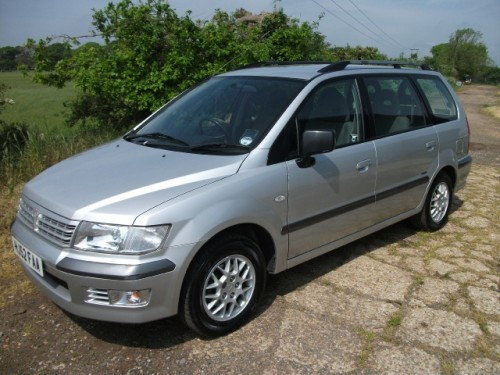 2002 Mitsubishi Space Wagon #17