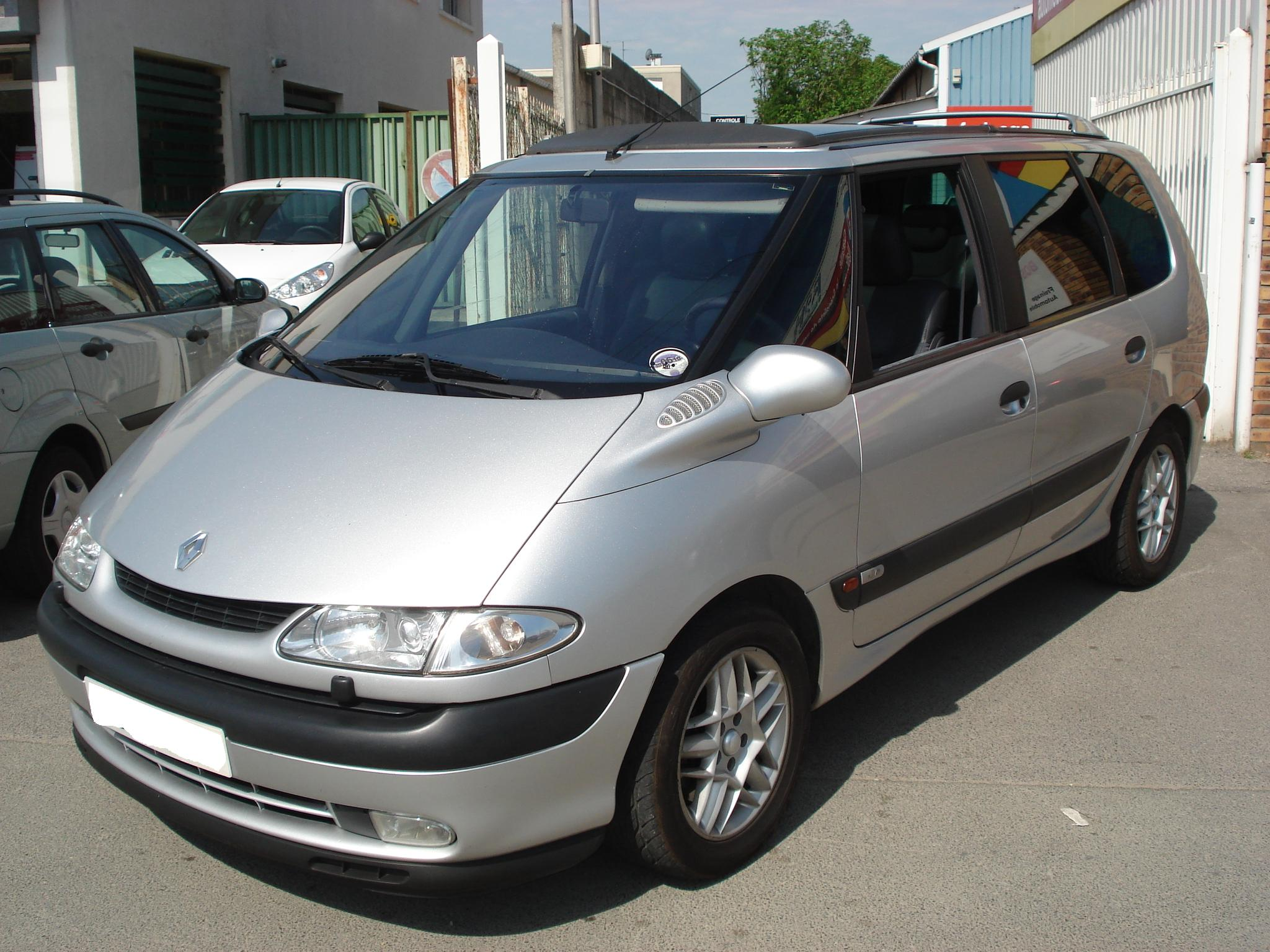 2002 renault espace photos informations articles. Black Bedroom Furniture Sets. Home Design Ideas