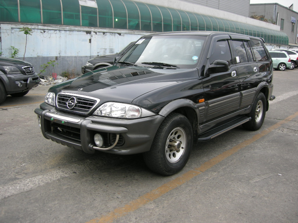 2002 Ssangyong Musso #21