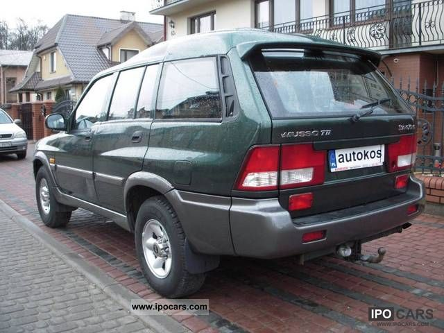 2002 Ssangyong Musso #20
