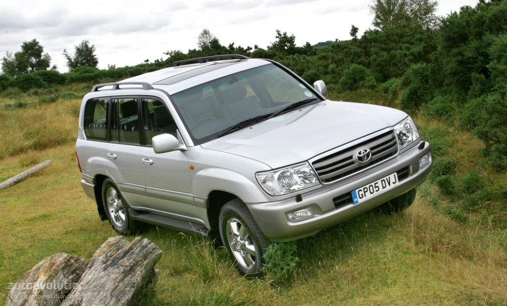 2002 Toyota Land Cruiser #21