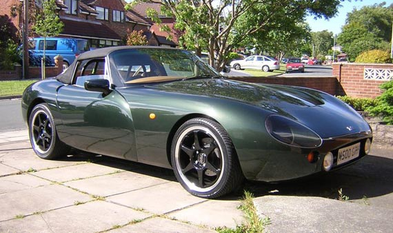 2002 TVR Griffith #24