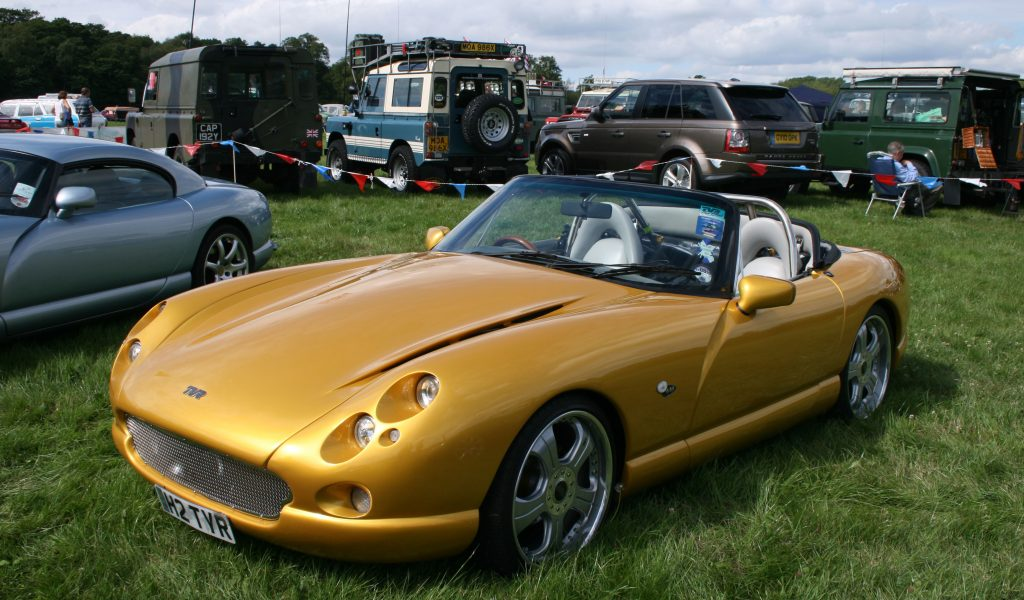 2002 TVR Griffith #19