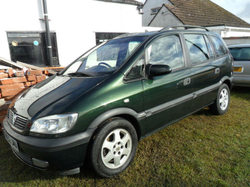 2002 vauxhall zafira photos informations articles. Black Bedroom Furniture Sets. Home Design Ideas