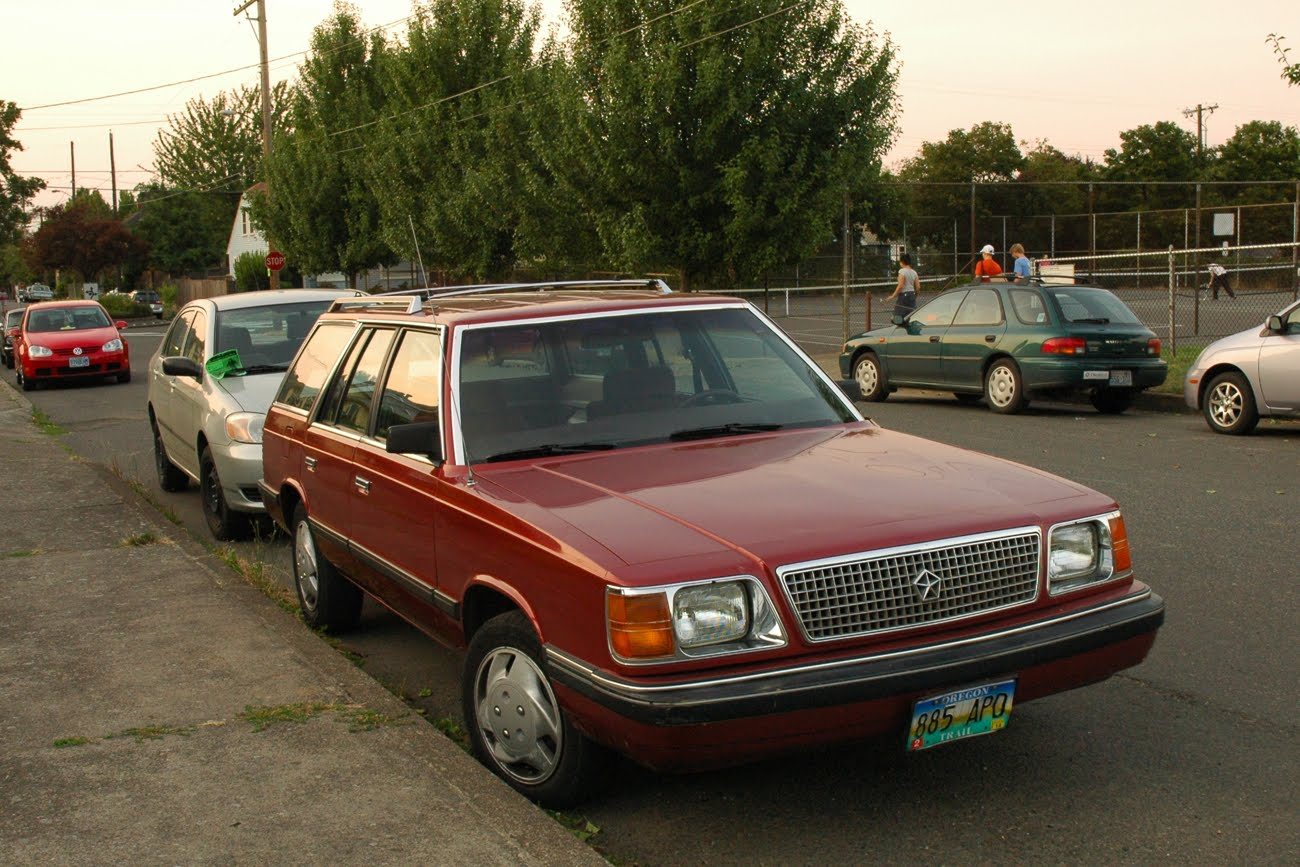 1987 Plymouth Reliant #9