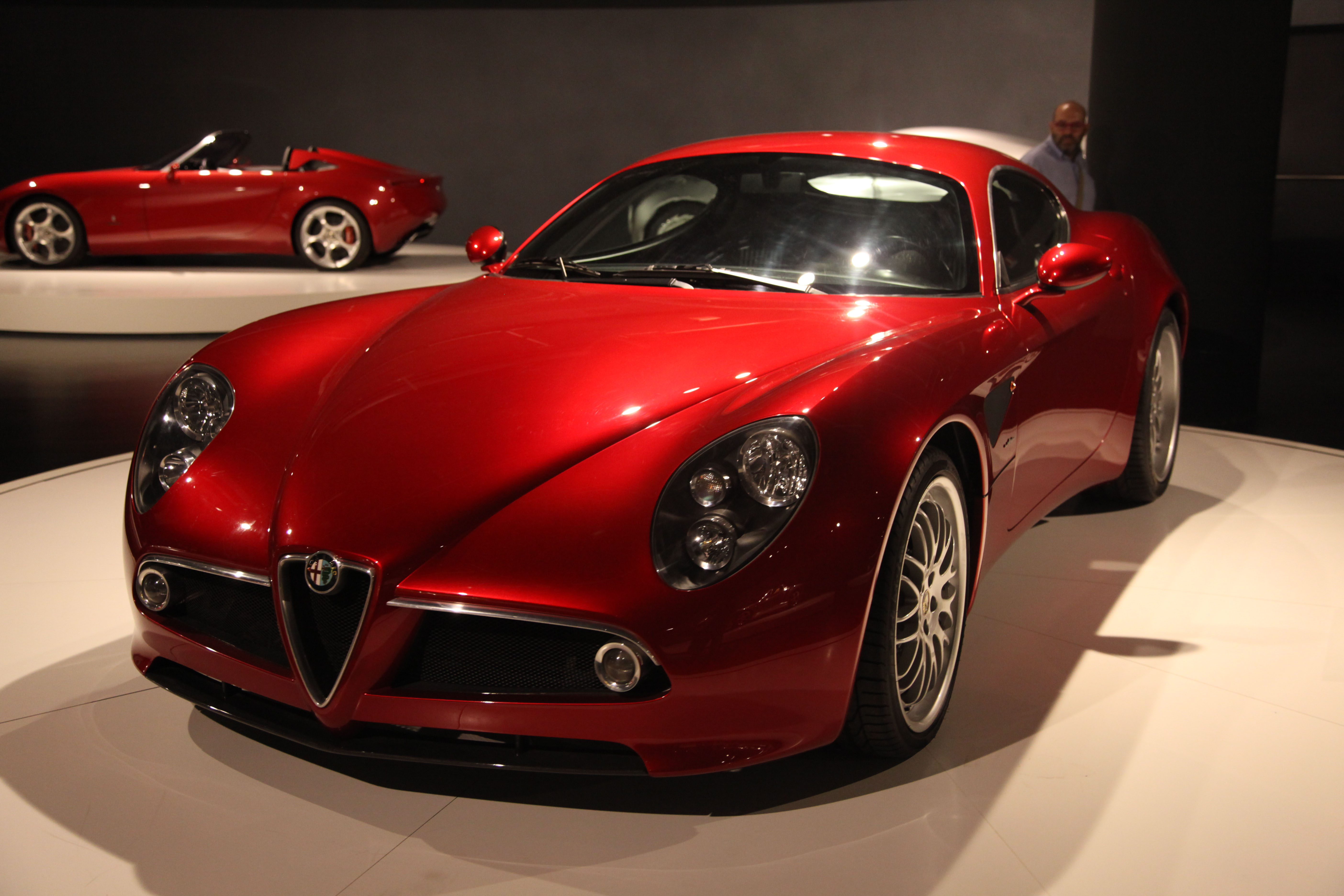 2003 alfa romeo 8c competizione photos informations articles. Black Bedroom Furniture Sets. Home Design Ideas