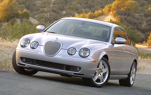 2003 Jaguar S-type #17