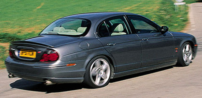 2003 Jaguar S-type #15