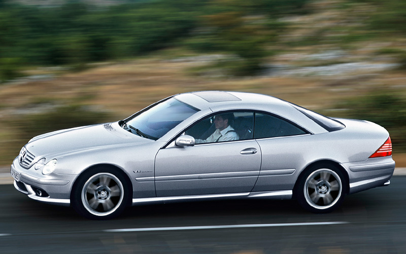 2003 Mercedes-Benz CL #26
