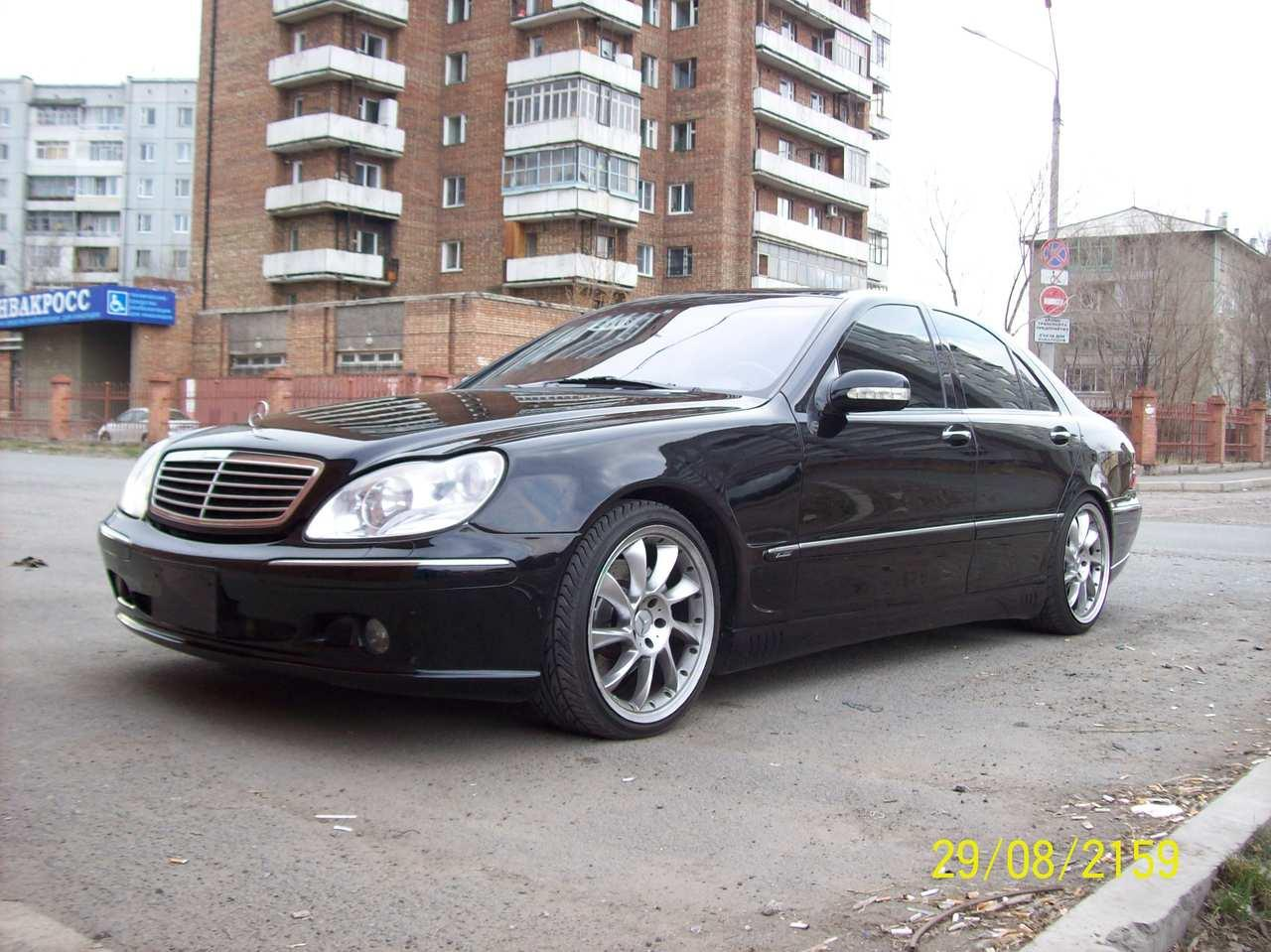 2003 mercedes benz s photos informations articles for 2003 mercedes benz suv