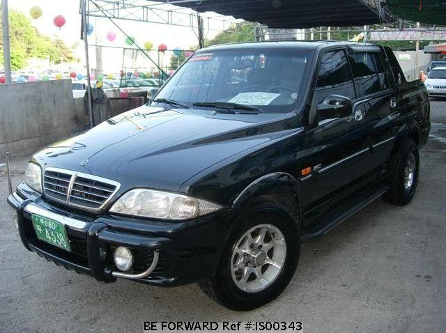 2003 Ssangyong Musso #19