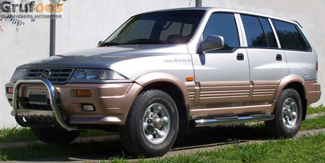 2003 Ssangyong Musso #23