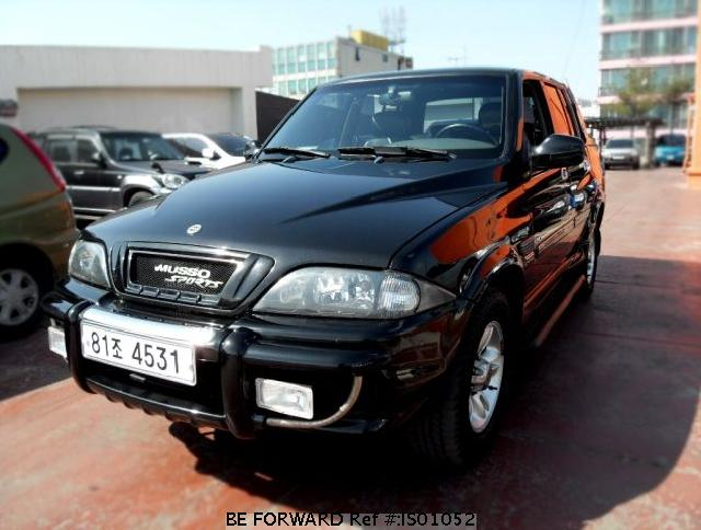2003 Ssangyong Musso #20