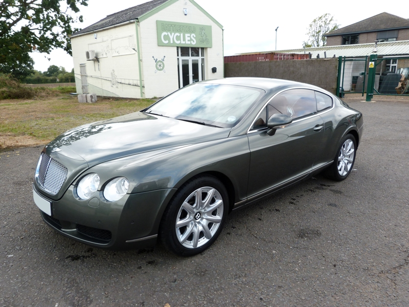 2004 Bentley Continental Gt #21