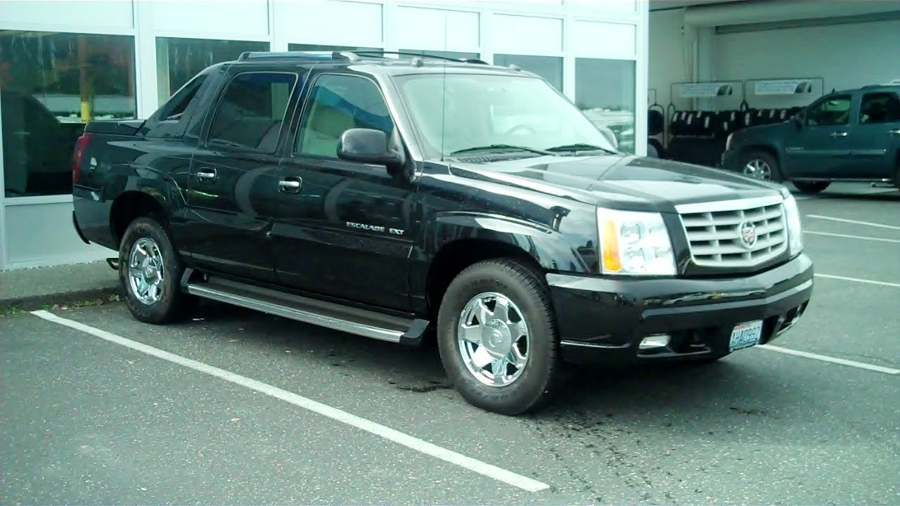 2004 cadillac escalade ext photos informations articles. Black Bedroom Furniture Sets. Home Design Ideas