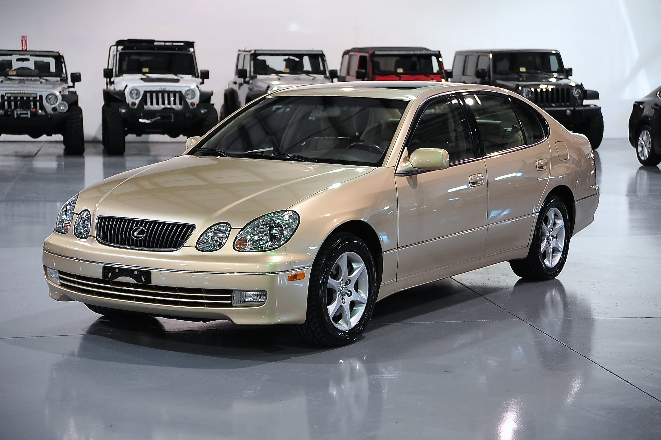 2004 lexus gs 300 photos informations articles. Black Bedroom Furniture Sets. Home Design Ideas