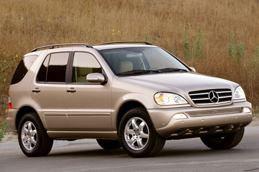 2004 mercedes benz m class photos informations articles. Black Bedroom Furniture Sets. Home Design Ideas