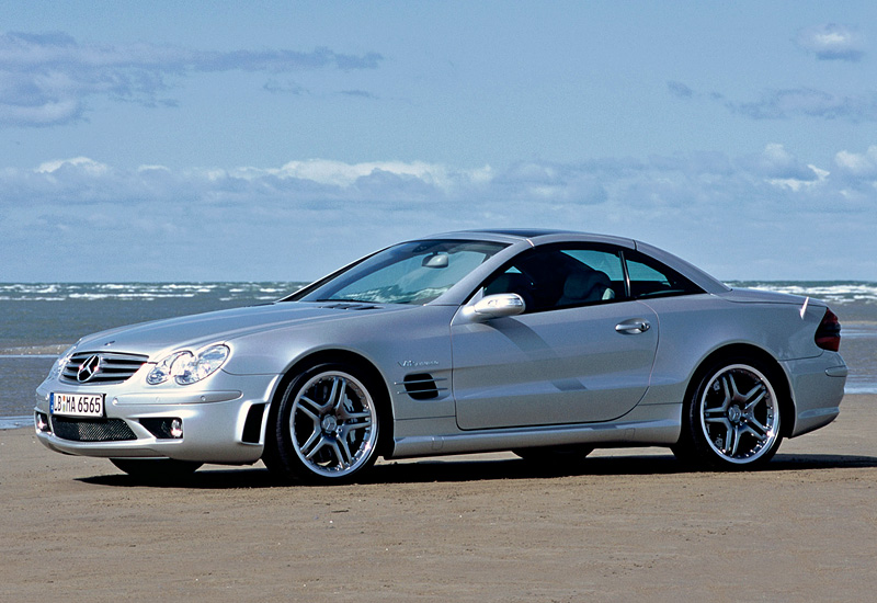 2004 Mercedes-Benz SL #21