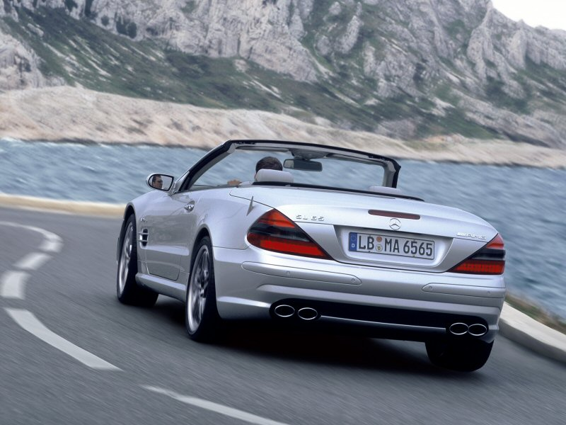 2004 Mercedes-Benz SL #20
