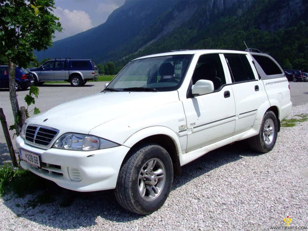 2004 Ssangyong Musso #20