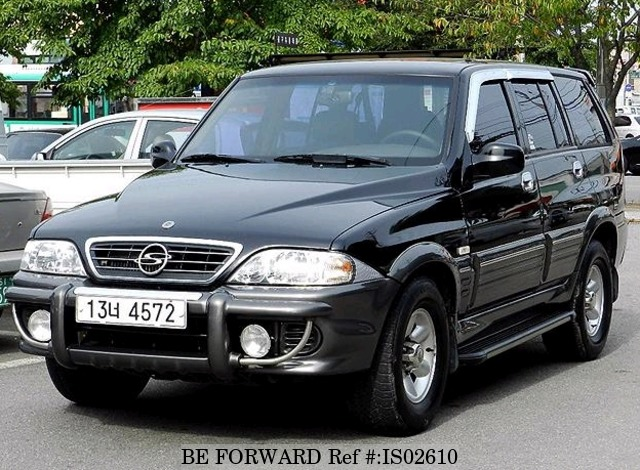2004 Ssangyong Musso #19