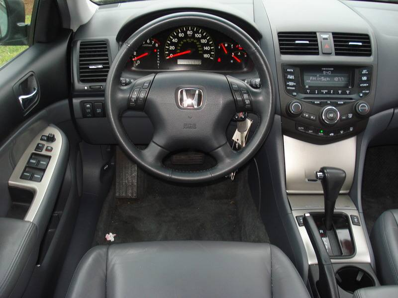 2005 Honda Accord Photos Informations Articles