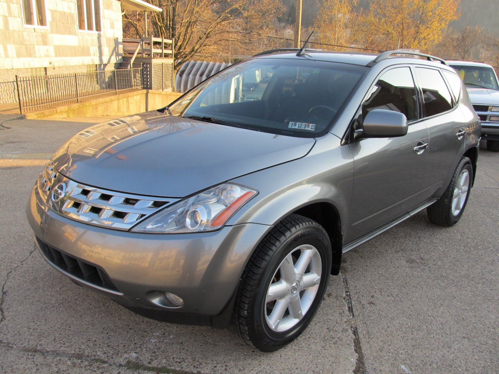 2005 nissan murano photos informations articles. Black Bedroom Furniture Sets. Home Design Ideas