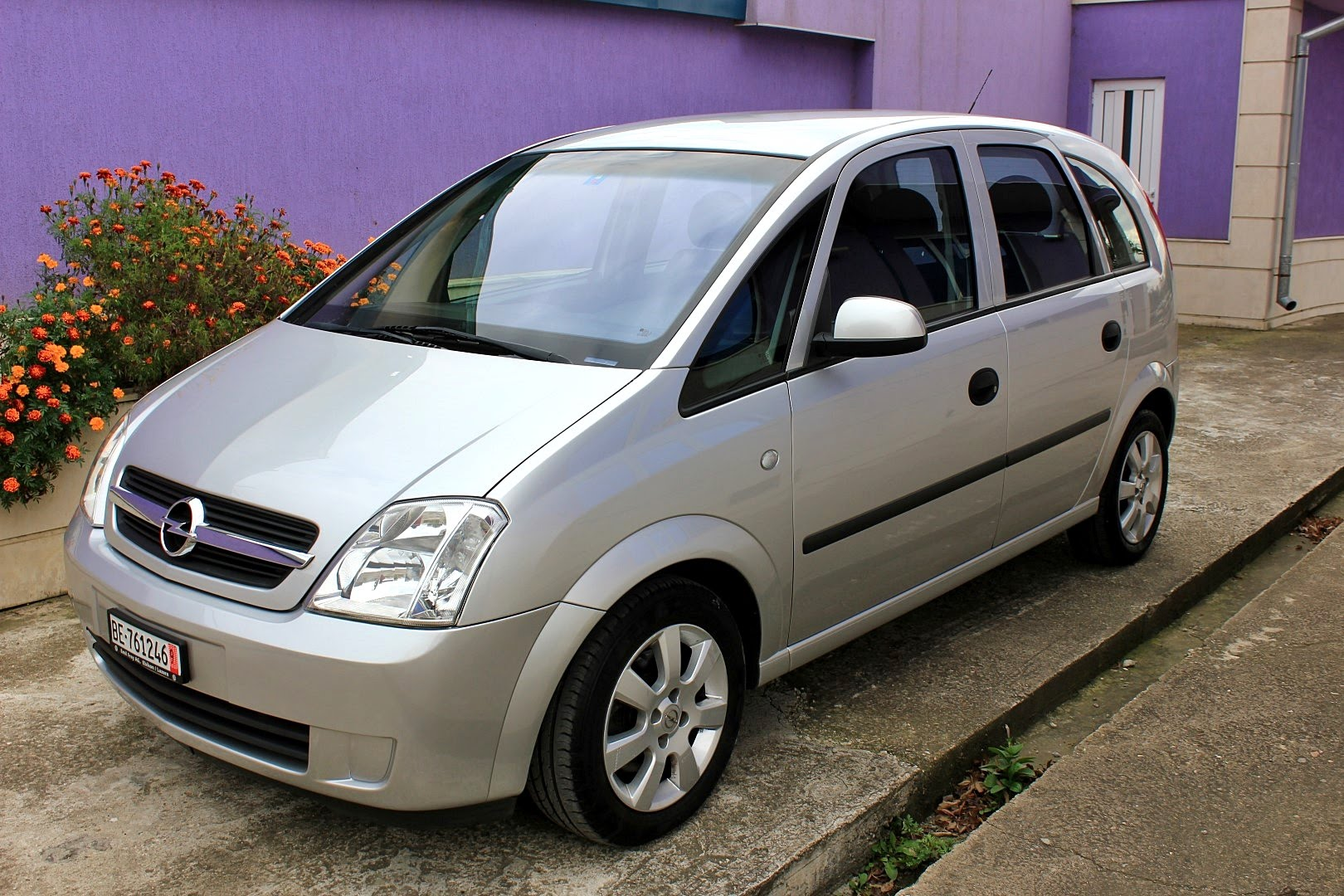2005 opel meriva photos informations articles. Black Bedroom Furniture Sets. Home Design Ideas