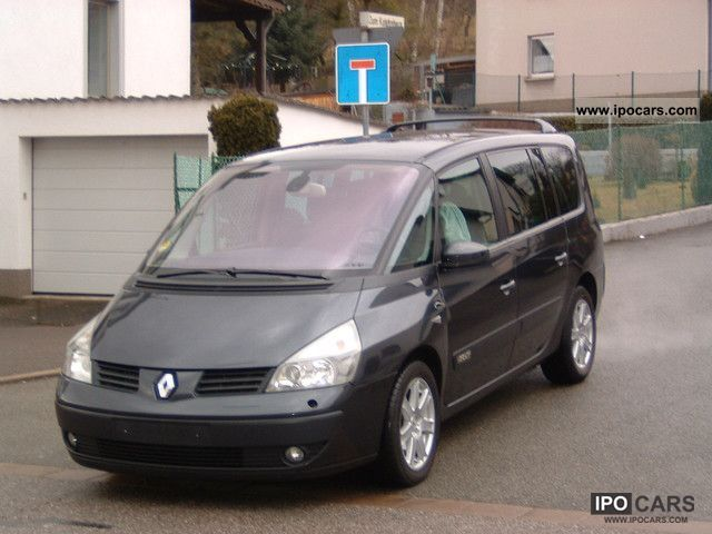 2005 renault grand espace photos informations articles. Black Bedroom Furniture Sets. Home Design Ideas