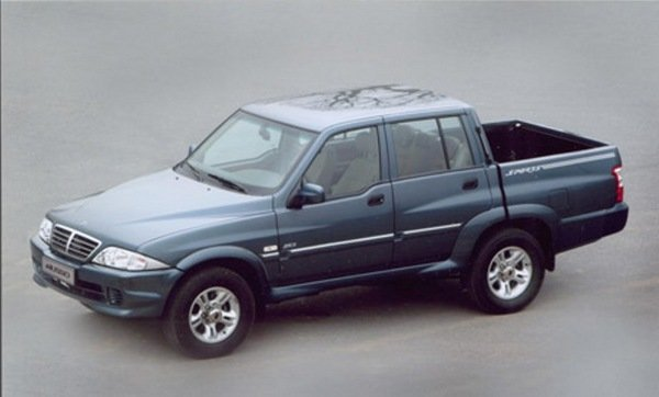 2005 Ssangyong Musso #17