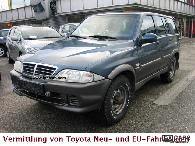 2005 Ssangyong Musso #19