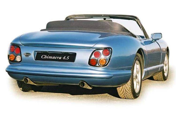 2005 tvr chimaera photos informations articles. Black Bedroom Furniture Sets. Home Design Ideas