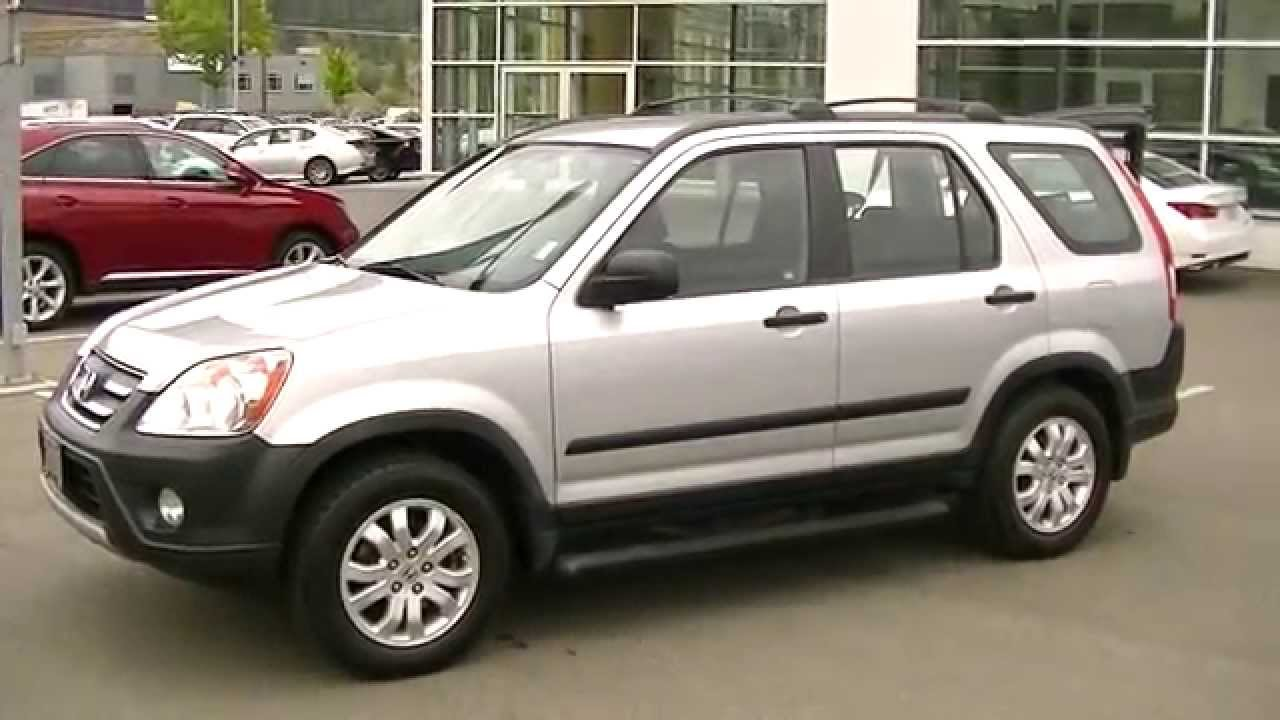 2006 Honda Cr V Photos Informations Articles