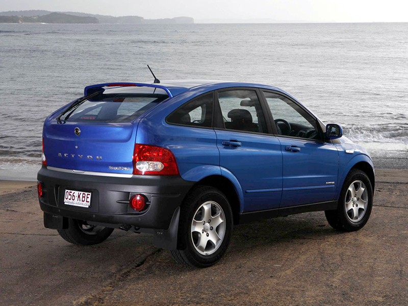 2006 Ssangyong Actyon #17