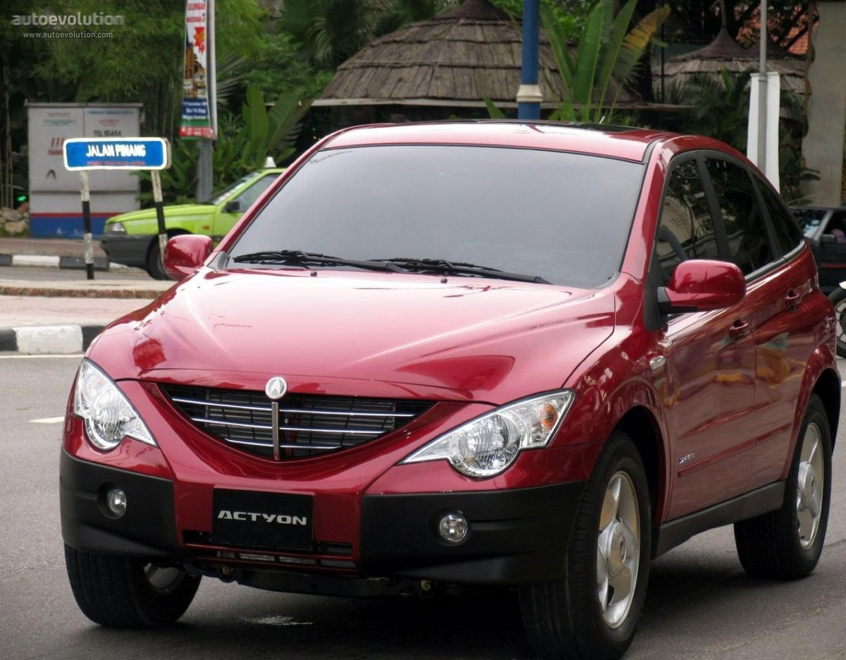 2006 Ssangyong Actyon #16