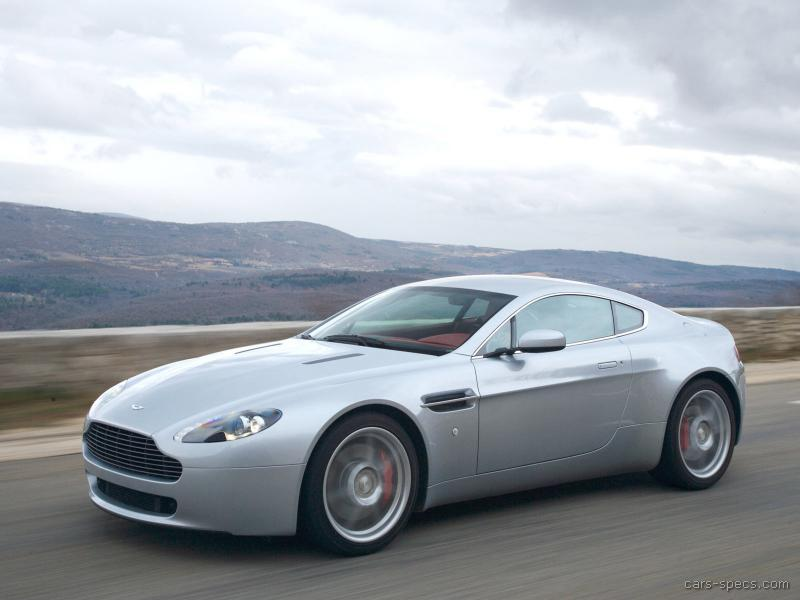 Aston Martin V Vantage Photos Informations Articles - 2007 aston martin v8 vantage