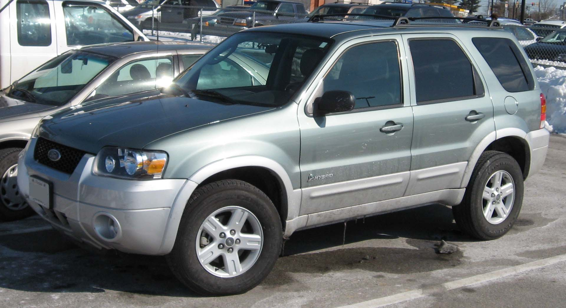 2007 ford escape hybrid photos informations articles. Black Bedroom Furniture Sets. Home Design Ideas