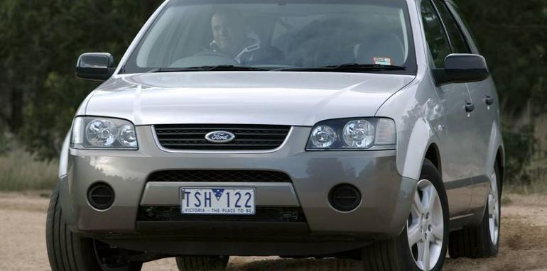 2007 Ford Territory #16
