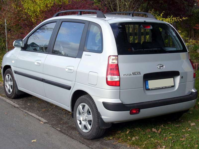 2007 Hyundai Matrix #18